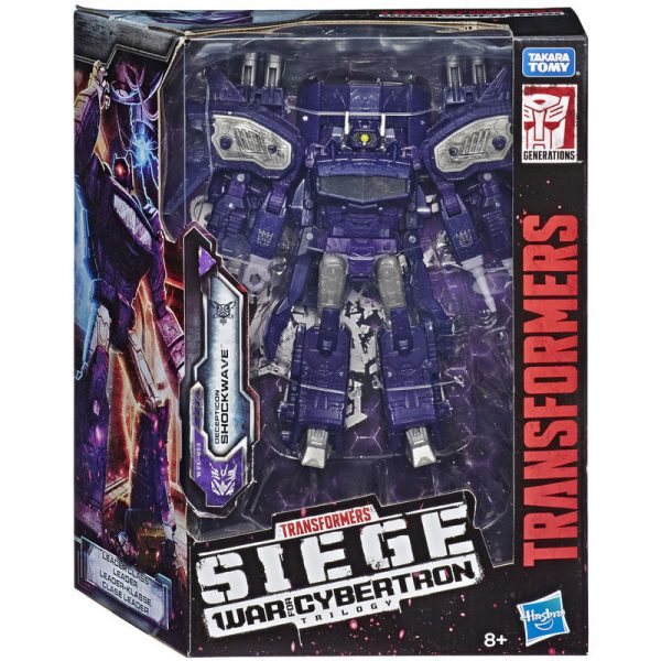 action Siege Leader Class WFC-S14 Shockwave Generations Transformers