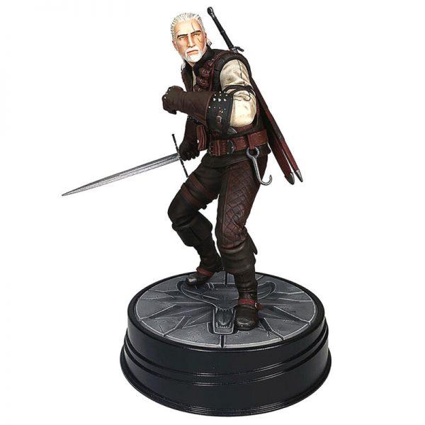 Estatua Geralt de Rivia The Witcher 3: Wild Hunt 20cm