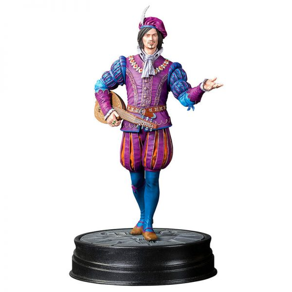 Estatua Jaskier Dandelion The Witcher 3 19cm