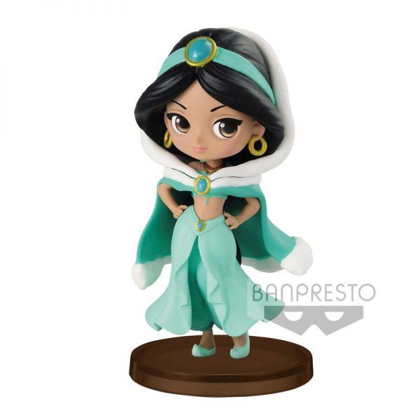 Jasmine Winter Aladdin Disney Q Posket 7cm
