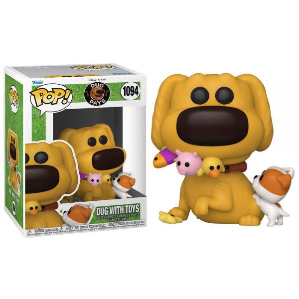 Funko POP Disney Dug Days Dug with Toys