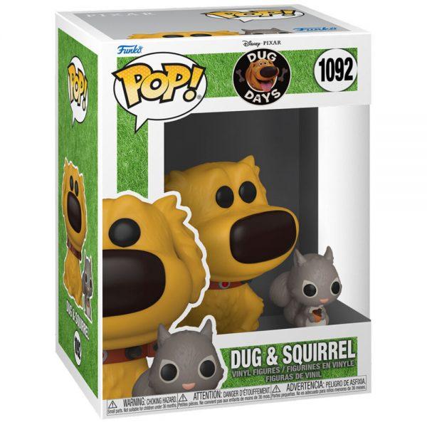 Funko POP Dug Days  Dug with Squirrel