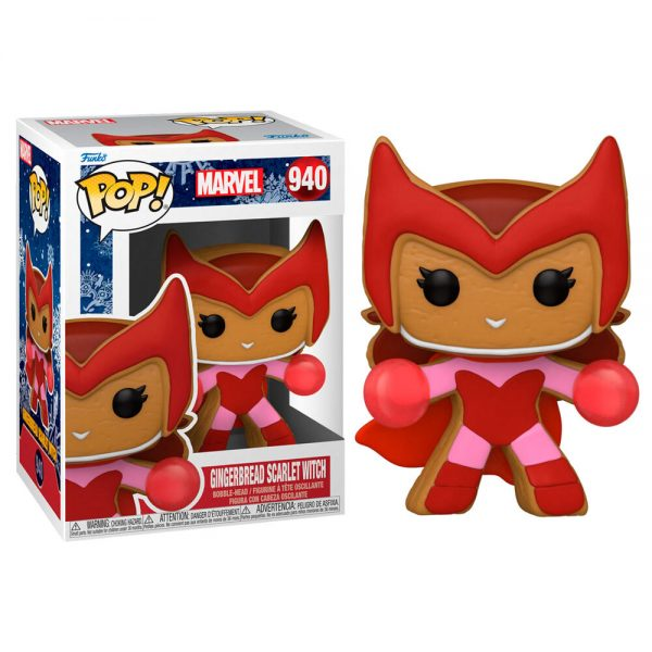 Funko POP Marvel Holiday Scarlet Witch