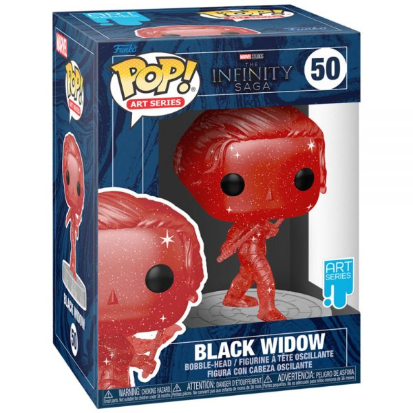 Funko POP Marvel Infinity Saga Black Widow Red