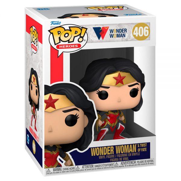 Funko POP DC Wonder Woman 80th Wonder Woman AT Wist Of Fate