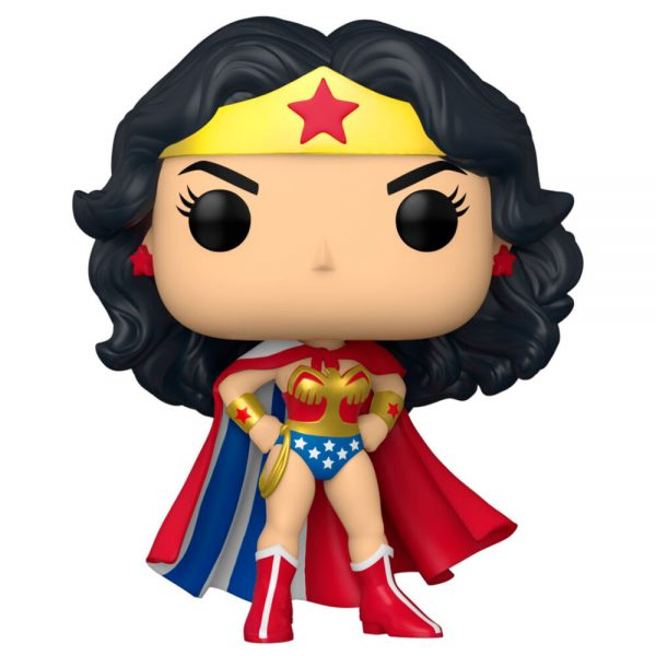 Funko POP DC Wonder Woman 80th Wonder Woman Classic with Cape