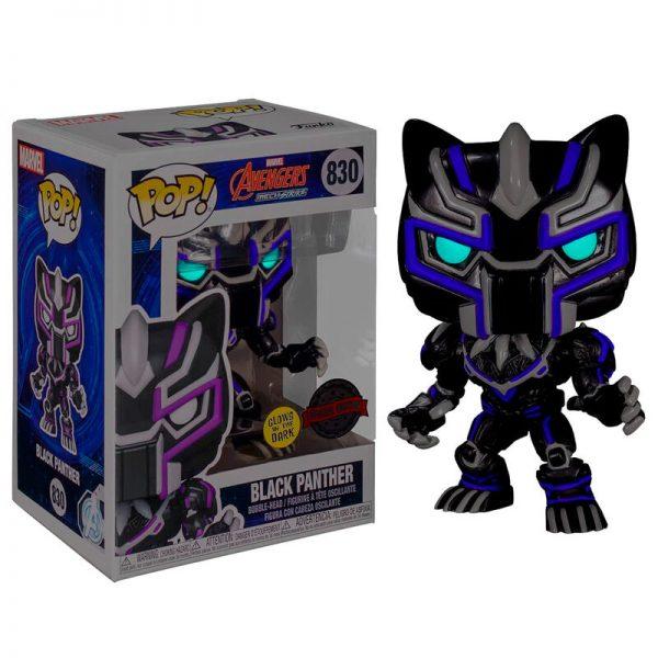 Funko POP Marvel Avengers Black Panther Glow in the Dark Exclusivo