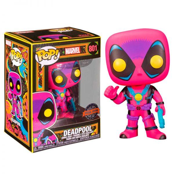 Funko POP Marvel Deadpool Blacklight Exclusivo