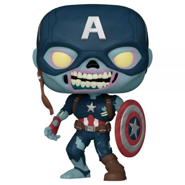 Funko POP Marvel What If Zombie Captain America