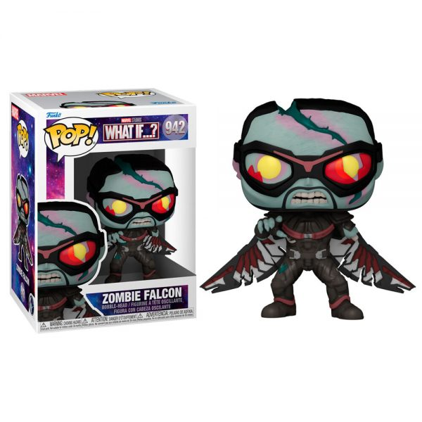 Funko POP Marvel What If Zombie Falcon