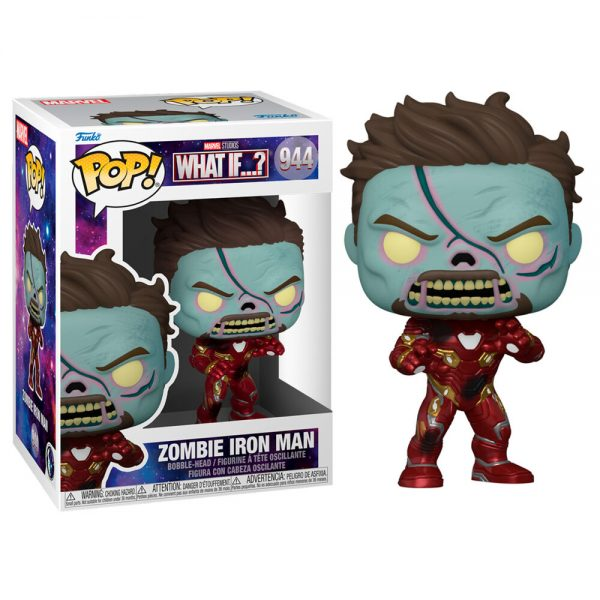Funko POP Marvel What If Zombie Iron Man