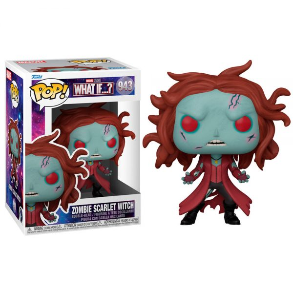 Funko POP Marvel What If Zombie Scarlet Witch