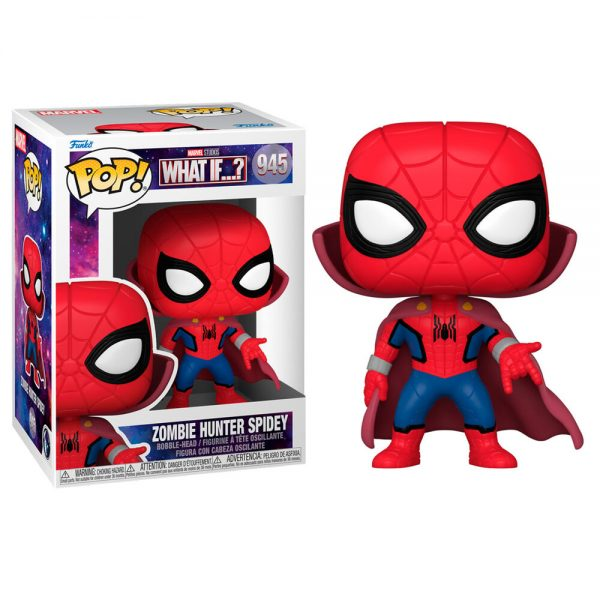 Funko POP Marvel What If Zombie Spiderman