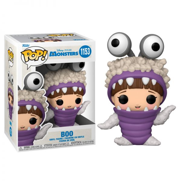 Funko POP Monsters Inc 20th Boo with Hood Up
