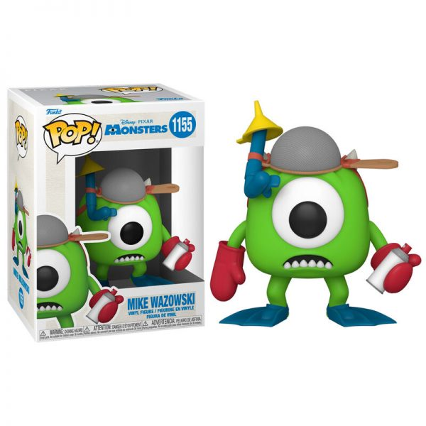 Funko POP Monsters Inc 20th Mike with Mitts