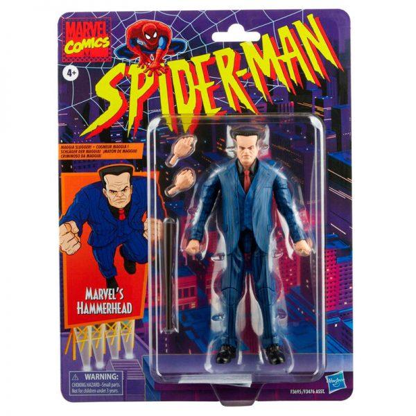 2022 Hammerhead Spiderman Marvel Legends 15cm