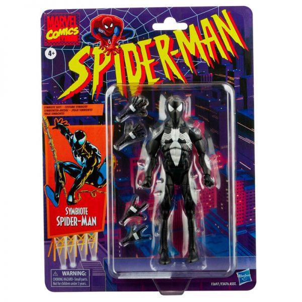 2022 Symbiote Spiderman - Spiderman Marvel Legends 15cm