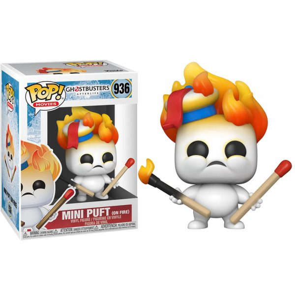 Funko POP Ghostbuster Afterlife Mini Puft On Fire