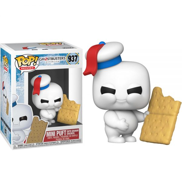 Funko POP Ghostbuster Afterlife Mini Puft With Graham Cracker