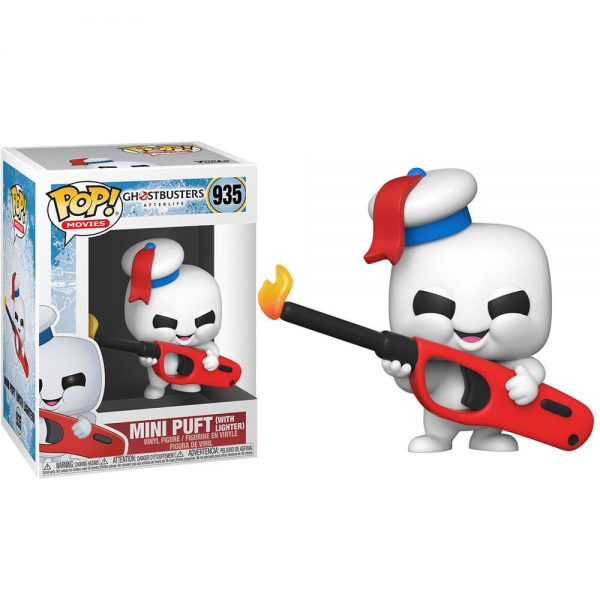 Funko POP Ghostbuster Afterlife Mini Puft With Lighter