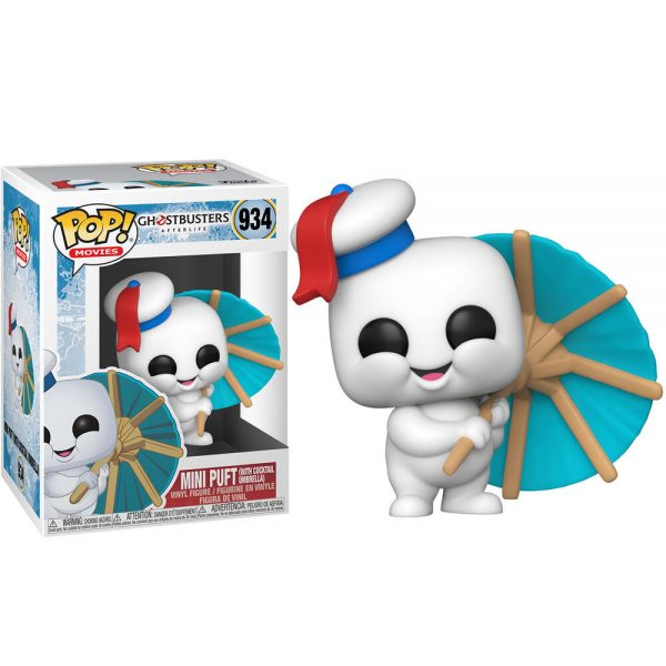 Funko POP Ghostbusters Afterlife Mini Puft With Cocktail Umbrella