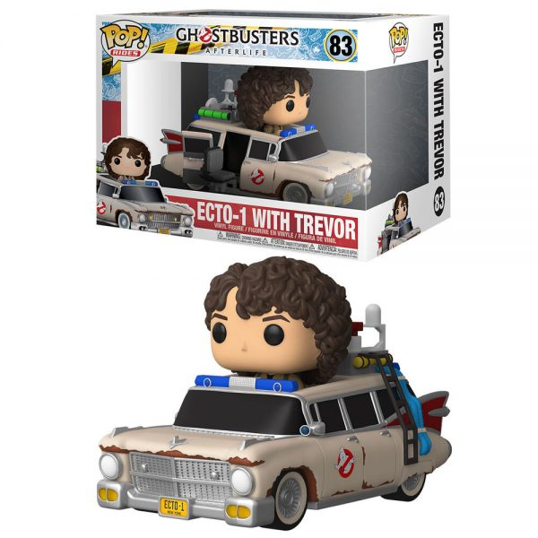 Funko POP Ghostbusters Afterlife Ride Ecto 1 With Trevor