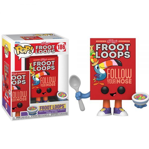 Funko POP Kelloggs Froot Loops Cereal Box