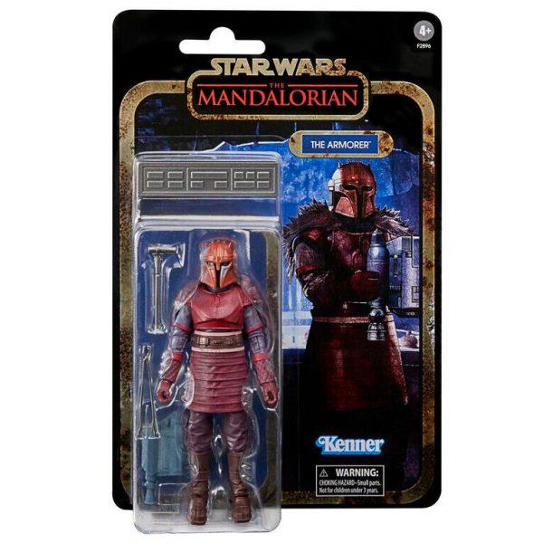 The Armorer Star Wars The Mandalorian Black Series 15cm